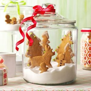 Gingerbread Male Snow Globe