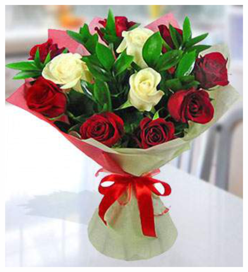 Midnight flower and cake delivery to delhi online bouqute of roses izmirmasajfo