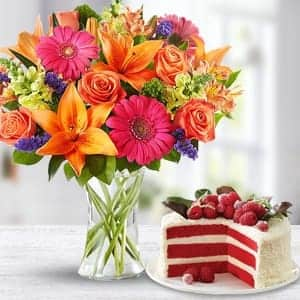 Flowers Cake Delivery Bangalore