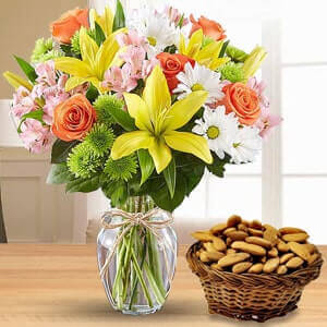 Flowers & Dry Fruits Delivery India