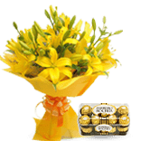 Flowers & Chocolate Delivery India