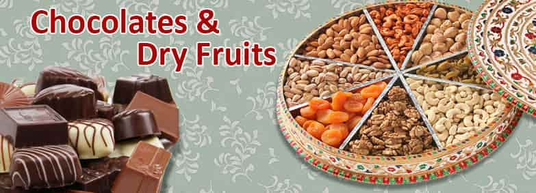 Chocolates & Dry Fruits For Diwali India