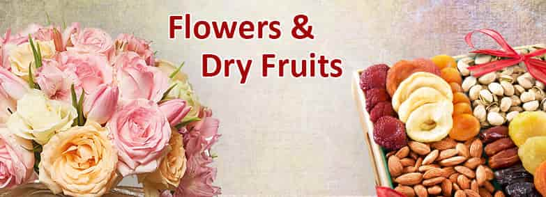 Flowers & Dry Fruits For Diwali India