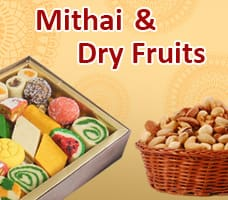 Mithai & Dry Fruits For Diwali India