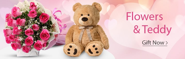 Flowers & Teddy Delivery India