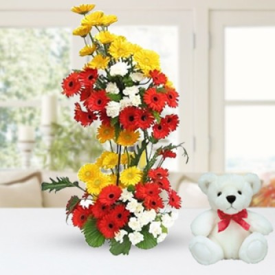 Flowers & Teddy