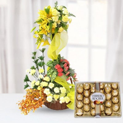 Flowers & Chocolate