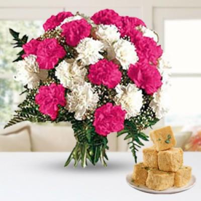 Diwali with Carnations