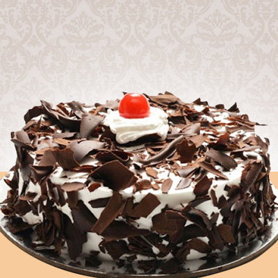 Eggless Blackforest Cake