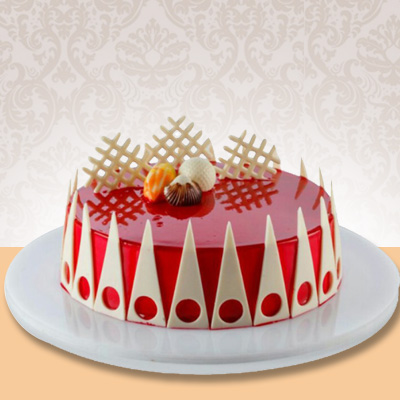 Strawberry Cake 1 Kg Premium 5 Star