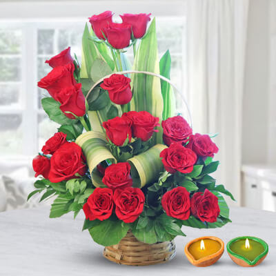 21 Fresh Red Roses